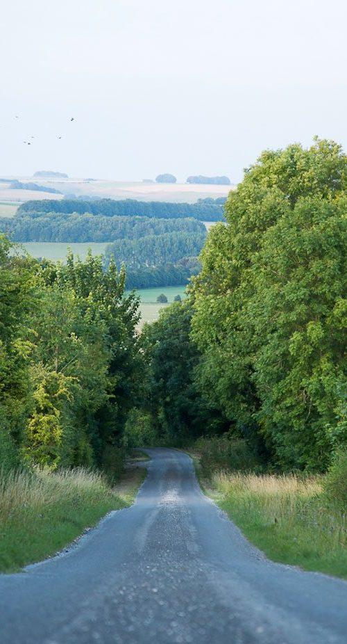 Casterley Barn driveway