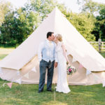 Casterley Barn wedding venue accommodation partners - Honeybells Glamping