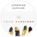 Boho Weddings Badge